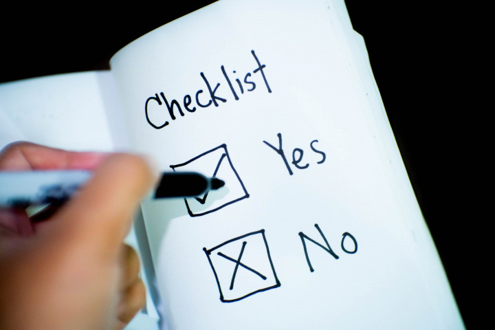 Checklist of Needs Prior to University Enrolment For New Students